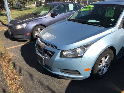 2011 Chevrolet Cruze for sale at ET AUTO II INC in Molalla OR