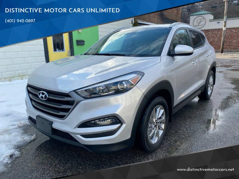 2016 Hyundai Tucson for sale at DISTINCTIVE MOTOR CARS UNLIMITED in Johnston RI