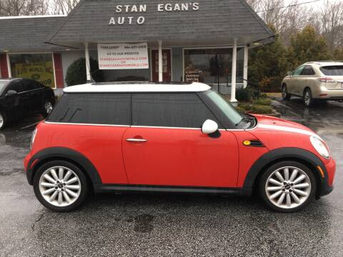 2012 MINI Cooper Hardtop for sale at STAN EGAN'S AUTO WORLD, INC. in Greer SC