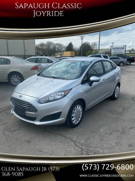 2015 Ford Fiesta for sale at Sapaugh Classic Joyride in Salem MO
