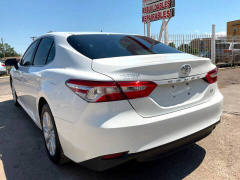 2018 Toyota Camry for sale at ELITE MOTOR CARS OF MIAMI in Miami FL