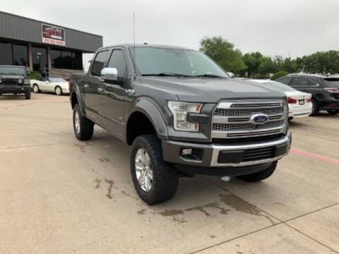 2015 Ford F-150 for sale at KIAN MOTORS INC in Plano TX