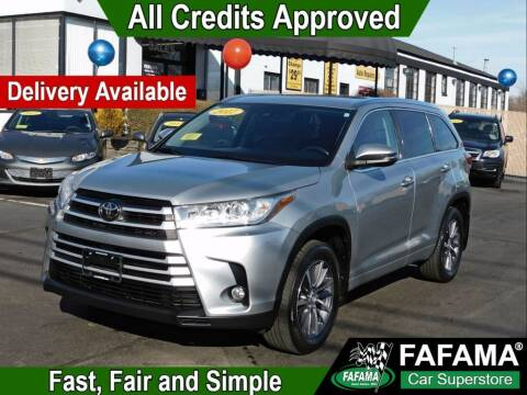 2017 Toyota Highlander for sale at FAFAMA AUTO SALES Inc in Milford MA