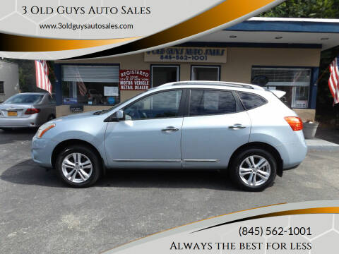 2012 Nissan Rogue for sale at 3 Old Guys Auto Sales in Newburgh NY