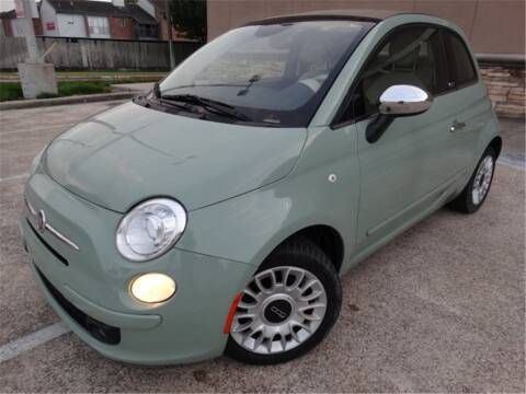 2015 FIAT 500c for sale at Abe Motors in Houston TX