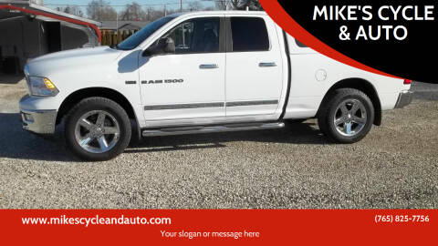 2011 RAM Ram Pickup 1500 for sale at MIKE'S CYCLE & AUTO - Mikes Cycle and Auto (Liberty) in Liberty IN