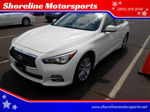 2015 Infiniti Q50 for sale at Shoreline Motorsports in Waterbury CT