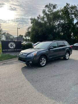 2014 Subaru Outback for sale at Station 45 Auto Sales Inc in Allendale MI