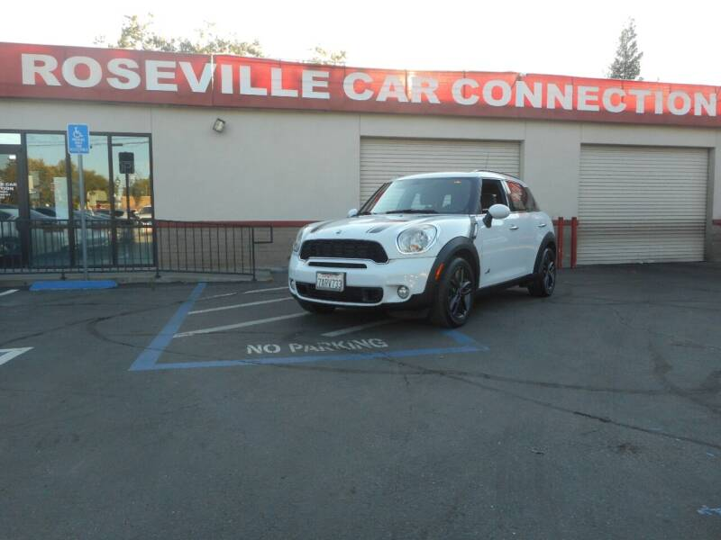 2012 MINI Cooper Countryman for sale at ROSEVILLE CAR CONNECTION in Roseville CA