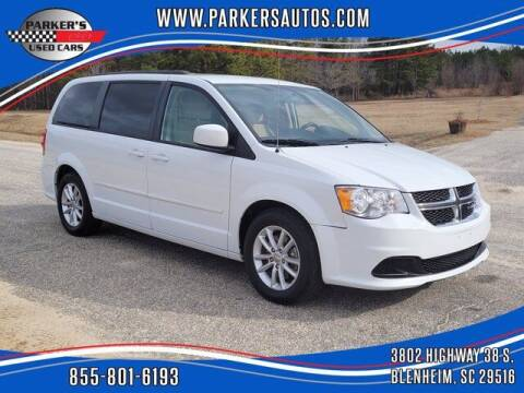 2016 Dodge Grand Caravan for sale at Parker's Used Cars in Blenheim SC