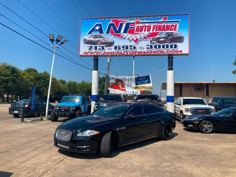 2011 Jaguar XJL for sale at ANF AUTO FINANCE in Houston TX