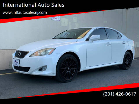 2008 Lexus IS 250 for sale at International Auto Sales in Hasbrouck Heights NJ