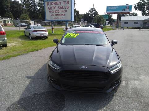2014 Ford Fusion for sale at Rickey T's Auto Sales in Garden City GA