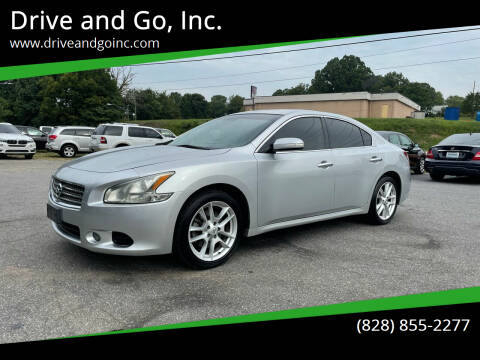 2011 Nissan Maxima for sale at Drive and Go, Inc. in Hickory NC