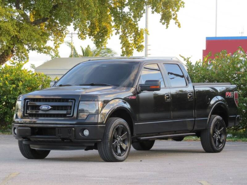 2013 Ford F-150 for sale at DK Auto Sales in Hollywood FL