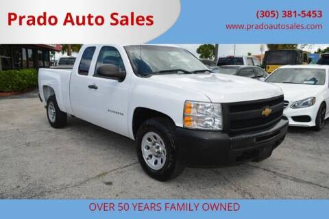 2013 Chevrolet Silverado 1500 for sale at Prado Auto Sales in Miami FL