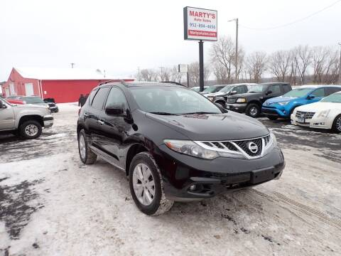 2012 Nissan Murano for sale at Marty's Auto Sales in Savage MN