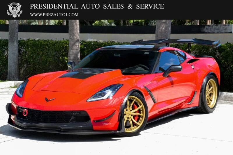 2016 Chevrolet Corvette for sale at Presidential Auto  Sales & Service in Delray Beach FL