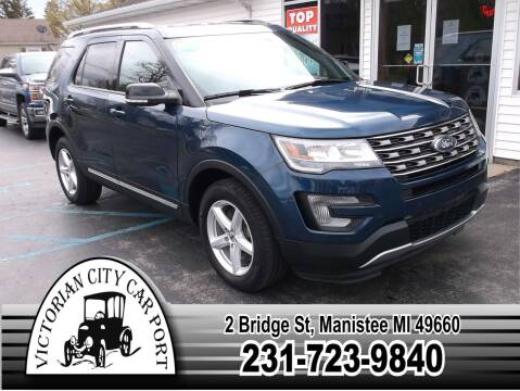 2017 Ford Explorer for sale at Victorian City Car Port INC in Manistee MI