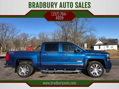 2017 Chevrolet Silverado 1500 for sale at BRADBURY AUTO SALES in Gibson City IL