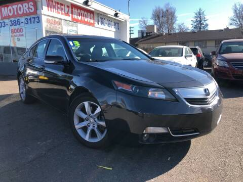 2013 Acura TL for sale at GPS Motors in Denver CO