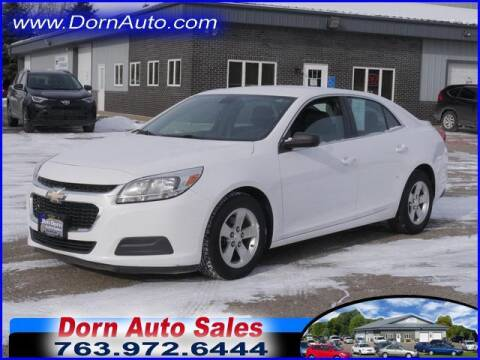 2015 Chevrolet Malibu for sale at Jim Dorn Auto Sales in Delano MN