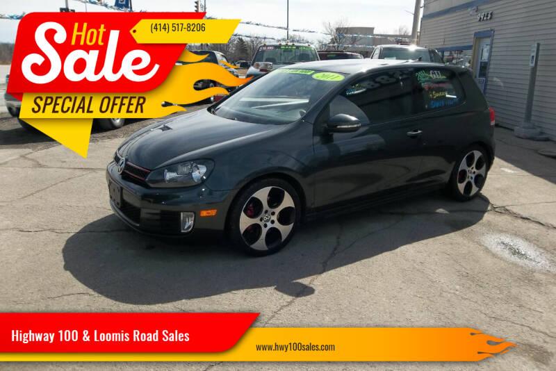 2011 Volkswagen GTI for sale at Highway 100 & Loomis Road Sales in Franklin WI