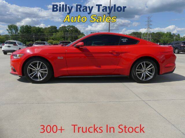 2016 Ford Mustang for sale at Billy Ray Taylor Auto Sales in Cullman AL