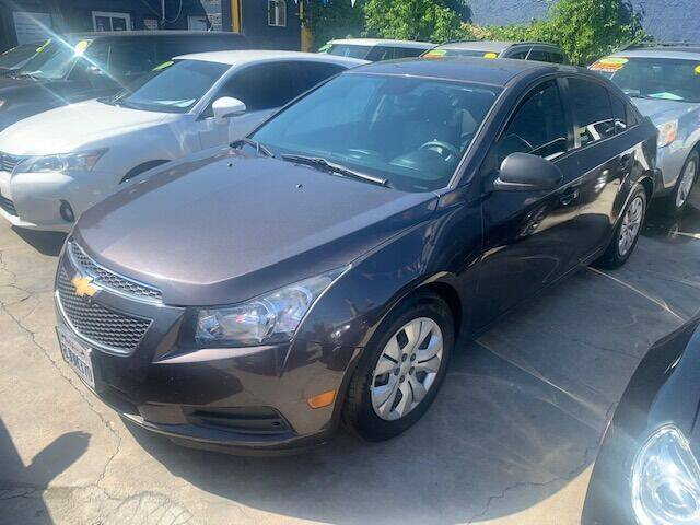2014 Chevrolet Cruze for sale at FJ Auto Sales North Hollywood in North Hollywood CA