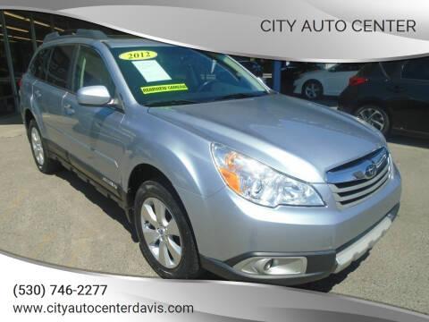 2012 Subaru Outback for sale at City Auto Center in Davis CA