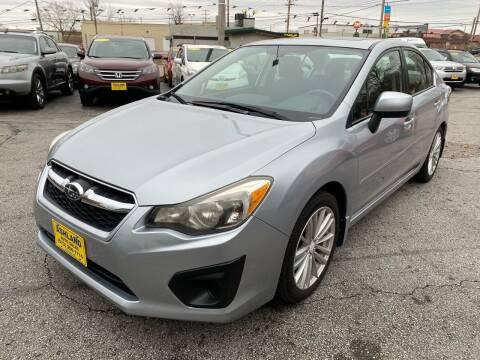 2012 Subaru Impreza for sale at ASHLAND AUTO SALES in Columbia MO