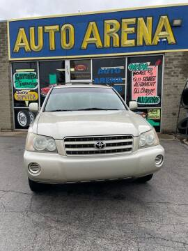 2002 Toyota Highlander for sale at Auto Arena in Fairfield OH