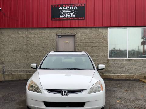 2005 Honda Accord for sale at Alpha Motors in Chicago IL
