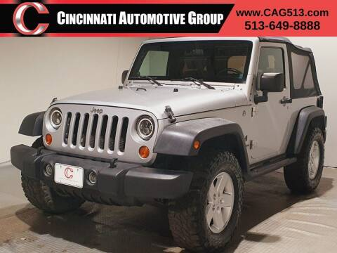 2007 Jeep Wrangler for sale at Cincinnati Automotive Group in Lebanon OH