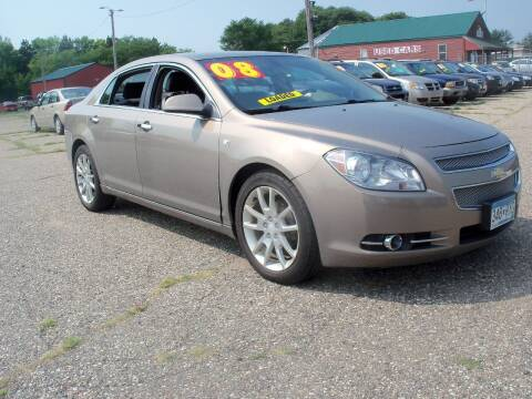 2008 Chevrolet Malibu for sale at Country Side Car Sales in Elk River MN