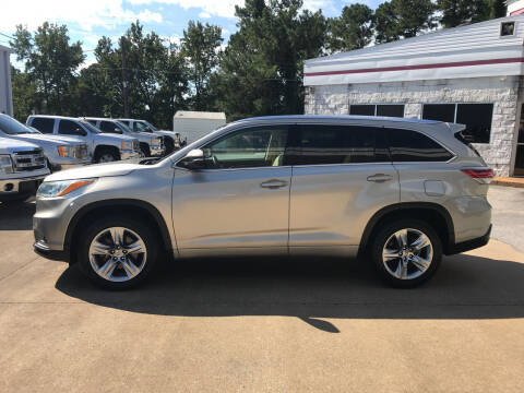 2015 Toyota Highlander for sale at Northwood Auto Sales in Northport AL