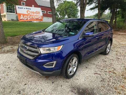 2015 Ford Edge for sale at Caulfields Family Auto Sales in Bath PA