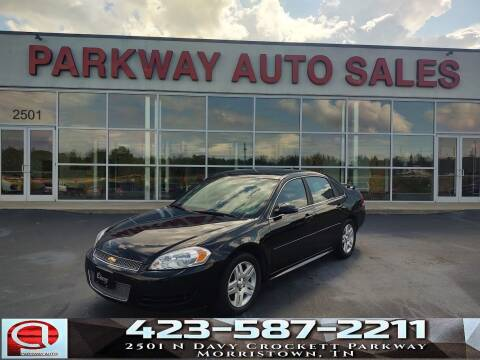 2013 Chevrolet Impala for sale at Parkway Auto Sales, Inc. in Morristown TN