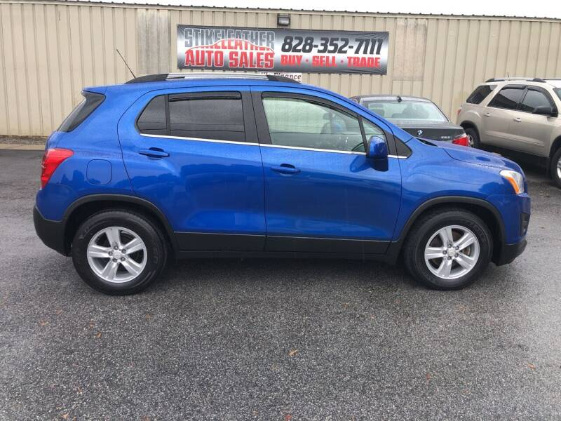 2015 Chevrolet Trax for sale at Stikeleather Auto Sales in Taylorsville NC