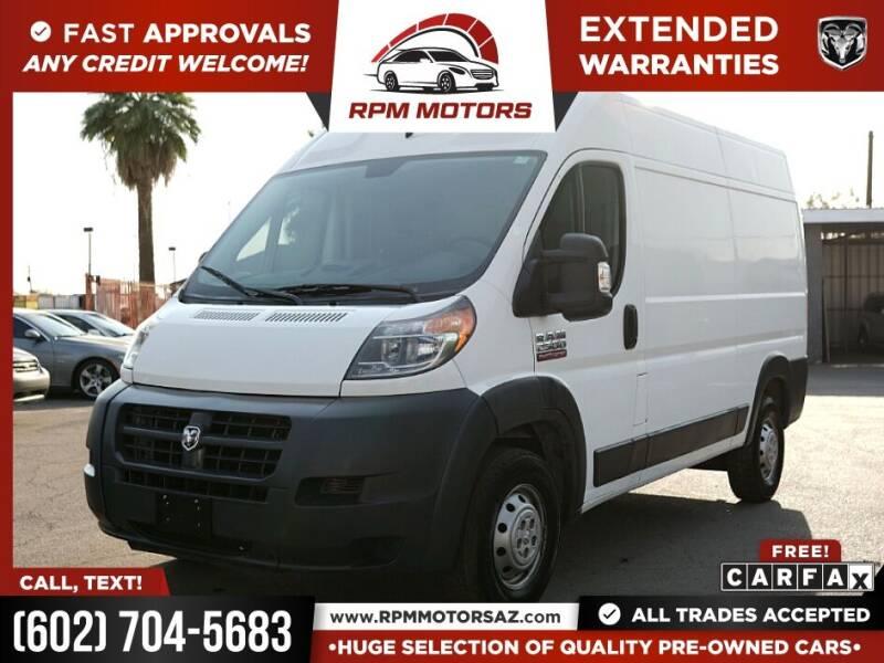 2016 RAM ProMaster Cargo for sale in Phoenix, AZ