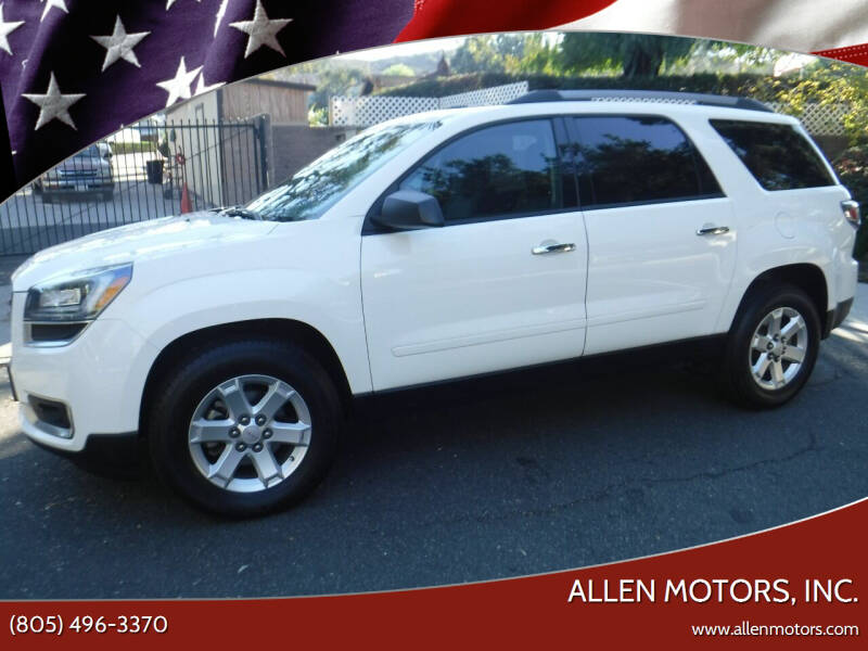 2014 GMC Acadia for sale at Allen Motors, Inc. in Thousand Oaks CA