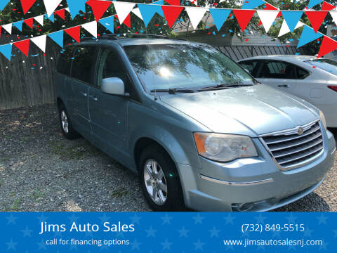 2008 Chrysler Town and Country for sale at Jims Auto Sales in Lakehurst NJ