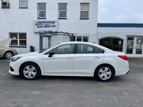 2018 Subaru Legacy for sale at Lightning Auto Sales in Springfield IL