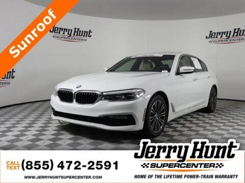 2017 BMW 5 Series for sale at Jerry Hunt Supercenter in Lexington NC