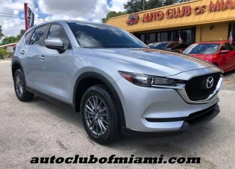 2017 Mazda CX-5 for sale at AUTO CLUB OF MIAMI, INC in Miami FL