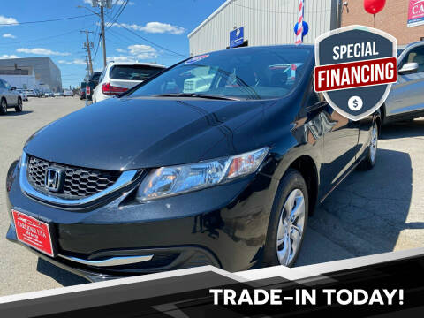 2015 Honda Civic for sale at Carlider USA in Everett MA