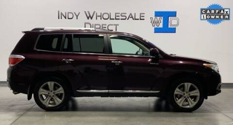 2012 Toyota Highlander for sale at Indy Wholesale Direct in Carmel IN