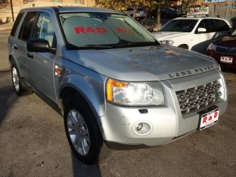 2008 Land Rover LR2 for sale at R & D Motors in Austin TX