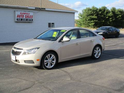 2011 Chevrolet Cruze for sale at Plainfield Auto Sales, LLC in Plainfield WI