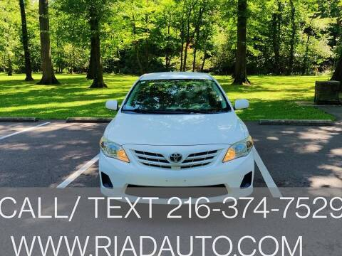 2013 Toyota Corolla for sale at Riad Auto Sales in Cleveland OH
